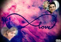 meu amor por vc e infinito  te amo meu amorzinho........