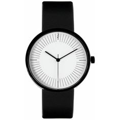 Monochrome Black by Simpl Watch Black&White ($169) ❤ liked on Polyvore featuring jewelry, watches, bracelets, accessories, black, black and white jewelry, black white jewelry and black and white watches