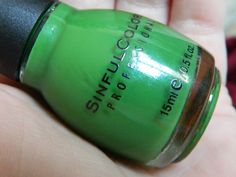 Sinful Colors Exotic Green. I'm excited to try this! (new shade)