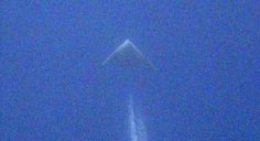 B-2 Spirit or new Mysterious Stealth Plane? New image of triangular shaped plane emerges