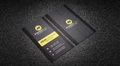 Download » http://businesscardjournal.com/contrasting-yellow-vertical-business-card-template/  Free Contrasting Yellow Vertical Business Card Template  #BusinessCards #businesscardtemplates #psd #freebies #modern #creative #corporate #vertical #dark #yellow