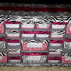 My teacher toolbox! Yes, I'm obsessed with zebra print! Had to make my toolbox to match my classroom theme and fabrics! I love stylish duct tape! :)