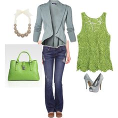 Green Goddess, created by sarah flowers on Polyvore