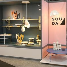 soudabrooklyn is killing it at ICFF with their booth via nycid- designer, furniture, love