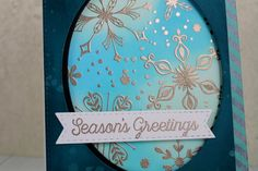1 Nov 2016 : KarrenJ - Stamping Stuff : Silver Snowflakes : Products used:  Stamps:  Simply Snowflakes, Snowfall of Blessings (MFT) Ink:  Versamark, Mermaid Lagoon, Cracked Pistachio. Peacock Feathers Distress Inks, Tropical Teal (MFT) Cardstock:  Specialty Stamping Paper (Ranger), Tropical Teal (MFT), White, Black Dies:  Pierced Oval Stax, Stitched Fishtail Flag Stax, Blueprints 25 (MFT) Accessories:  Liquid Platinum EP (Ranger), Shimmer Mist