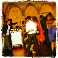 Il #party dopo la cerimonia, con tanto di #dj...il divertimento è assicurato!