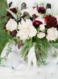 Fine Art Film Wedding Photography PNW and Desitations beyond Dahlia Bridal Bouquet, Ranunculus Bouquet, Blush Fall Wedding, Jewel Tone Wedding, Deep Burgundy, Floral Photography, Film Photography, Wedding Inspiration, Wedding Ideas
