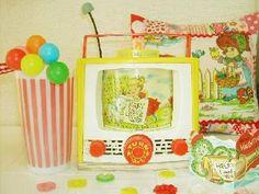 Fisher Price TV, vintage music box