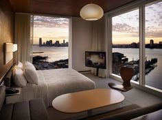 """Hudson Studio at The Standard Hotel NYC...definitely from that scene, in """"Shame.""""  If you know, you know."""