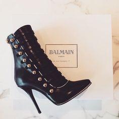 Balmain Booties #JenniferW #Bestshoes,boots&heels♡