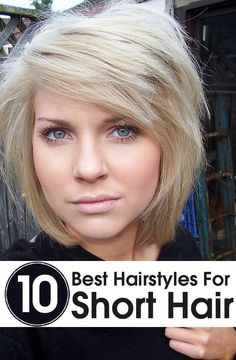 10 The Best Short Hairstyles for 2015 Fashion
