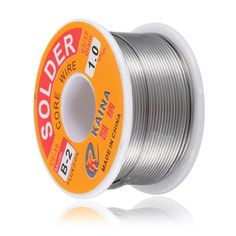 New Welding Iron Wire Reel 100g/3.5oz FLUX 2.0% 1mm 63/37 45FT Tin Lead Line Rosin Core Flux Solder Soldering Wholesale