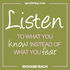 Richard Bach #quote Spryliving.com