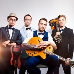 The Long Straws East Sus Rock Pop Retro Rockabilly Covers Band For Weddings
