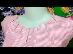 cara membuat blus pias 7 - YouTube