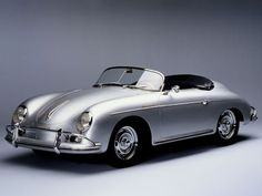 Porsche 356. When I get married, this is the car I want to ride away in.