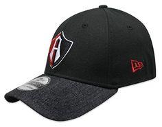 New Era 59Fifty Hat Guadalajara Atlas Soccer Club Mexican League Denim Black Cap