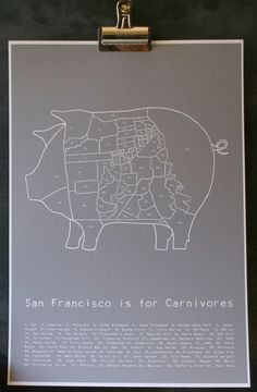 San Francisco is for Carnivores! $26