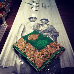 The #ctcwest #s150 #saree collection continues. #sareeswag #50shadesofsarees #formalwear