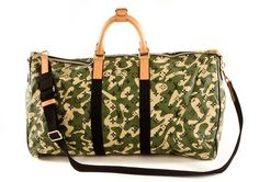 Authentic Louis Vuitton Monogramouflage Keepall 55   $3850 or best offer