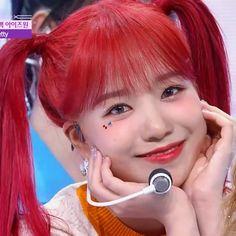 Cute Girls, Cool Girl, My Girl, Pink Hair, Red Hair, Yuri, Foto Rap Monster Bts, Strawberry Hair, Hair Icon