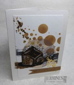 A creative way to express myself Tim Holtz, Cardmaking, Mixed Media, Decorative Boxes, Stamp, Ink, Places, Creative, Cards