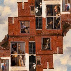 Windows - digital collage by iuri kothe 2016