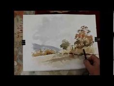 ▶ How to do a loose watercolour in more detail - YouTube