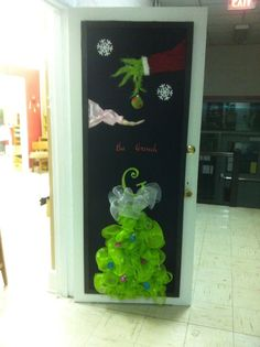grinch christmas door decorating ideas. Christmas Door · Office Christmas DecorationsChristmas Grinch Decorating Ideas