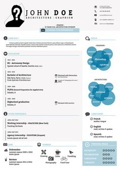 Freebie Infographic Resume Psd Template  Creative Resume Design