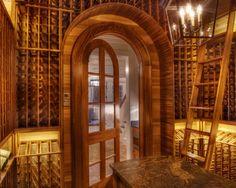 Kessick Wine Cellars For Gabriel Builders, Traditional Wine Cellar