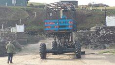 The Sea tractor Burgh Island.