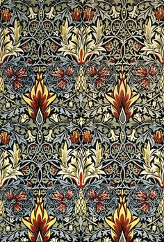 William Morris – Floral Pattern.