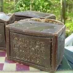 handmade soap coffee soap....