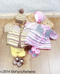 (6) Name: 'Knitting : Knitting Pattern Baby Jacket, Shorts 288 - pattern $4.60
