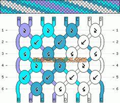 Normal friendship bracelet pattern added by fun lovely cool sweet zig zag stripe. Diy Bracelets With String, String Bracelet Patterns, Diy Bracelets Patterns, String Friendship Bracelets, Diy Friendship Bracelets Patterns, Floss Bracelets, Friend Bracelets, Bracelet Crafts, Bracelet Tutorial