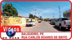 VÍDEOS DE RUAS - PE - SALGUEIRO - R. Carlos Soares de Brito