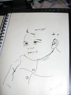 Pen Portrature - Image 2 http://www.dazzlemarket.com/ads/penink-portrature/