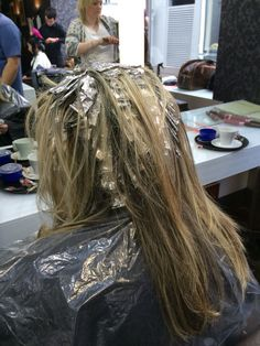 216 Best Hair Foil For Dyeing Images In 2019 Hair Foils