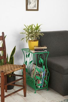 Green Flourish Side Table at Urban Outfitters