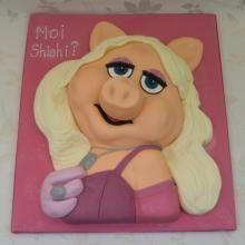 Miss Piggy Cake by Cakes 4 Fun Ltd, London