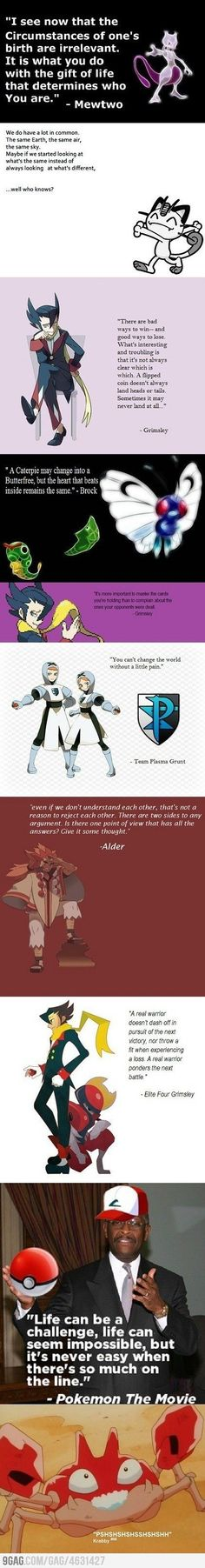 Just  some inspirational pokémon quotes