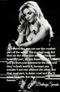 Britney Spears Quote <3