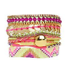 Bracelet Amor Hipanema - Manchette or multicolore - L Maillot de bain Hipanema http://www.amazon.fr/dp/B00IZJILZO/ref=cm_sw_r_pi_dp_PbDNub1D74ARQ