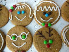 Recipe for Gingerbread Heads Gingerbread Men cookie recipe
