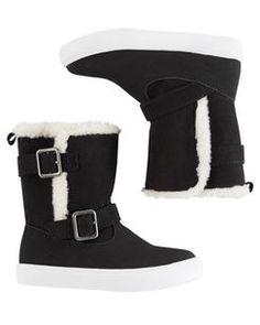 60030e1247e9 Carter s Buckle Boots Toddler Girl Shoes
