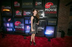 The adorably quirky Anna Kendrick joined us at the Virgin Mobile Movie Lounge for the Last 5 Years after party last night. She's just as awesome as we thought she'd be.