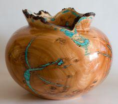 richard Fitzgerald Mountain Laurel wood vessel