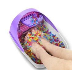 Foot squishy massager