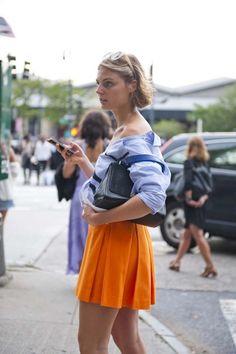 Street style from New York fashion week spring/summer '15 gallery - Vogue Australia